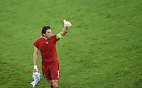 FUSSBALL  EUROPAMEISTERSCHAFT 2012   VORRUNDE Italien - Irland                       18.06.2012 Torwart Gianluigi Buffon (Italien)