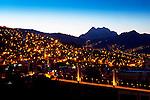 Mt Illiamani_Dawn_La Paz_Bolivia