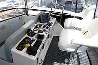 Interior photographs of a Caribbean/Bertram 35 for client selling his boat.