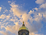 5.14.13 Dome and Clouds.JPG by Matt Cashore/University of Notre Dame
