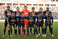 Philadelphia Union starting eleven. DC United defeated Philadelphia Union 1-0 during a Major League Soccer (MLS) match at PPL Park in Chester, PA, on June 16, 2012.
