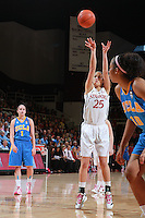 STANFORD, CA - February 12, 2011: Stanford Cardinal's Erica Payne during Stanford's 82-59 victory over UCLA at Maples Pavilion.