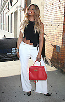 NEW YORK, NY - JUNE 29:  Laverne Cox spotted leaving  'The Daily Show with Trevor Noah' where she talked about season 4 of Netflix's 'Orange is the New Black' in New York, New York on June 29, 2016.  Photo Credit: Rainmaker Photo/MediaPunch