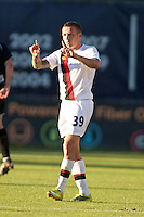 Manchester City's Craig Bellamy during a match at Merlo Field in Portland Oregon on July 17, 2010.