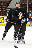 Ryan Ellis (Canada - 8) - Team Canada practices the morning of Friday, December 26, 2008, at Scotiabank Place in Kanata (Ottawa), Ontario prior to playing the Czech Republic that evening.