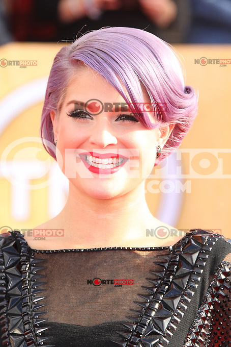 LOS ANGELES, CA - JANUARY 27: Kelly Osbourne at The 19th Annual Screen Actors Guild Awards at the Los Angeles Shrine Exposition Center in Los Angeles, California. January 27, 2013. Credit: MediaPunch Inc. /NortePhoto /NortePhoto