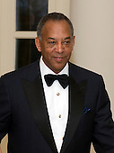 John W. Thompson, CEO of Virtual Instruments,  arrives for the Official Dinner in honor of Prime Minister David Cameron of Great Britain and his wife, Samantha, at the White House in Washington, D.C. on Tuesday, March 14, 2012. Mr. Thompson is one of United States President Barack Obama's biggest campaign fundraisers..Credit: Ron Sachs / CNP.(RESTRICTION: NO New York or New Jersey Newspapers or newspapers within a 75 mile radius of New York City)