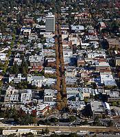 aerial photograph Palo Alto, California