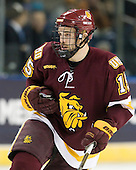 Jake Hendrickson (Duluth - 15) - The University of Minnesota-Duluth Bulldogs defeated the Union College Dutchmen 2-0 in their NCAA East Regional Semi-Final on Friday, March 25, 2011, at Webster Bank Arena at Harbor Yard in Bridgeport, Connecticut.