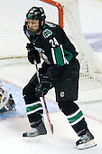 Chris Porter (University of North Dakota - Thunder Bay, ON) - The Boston College Eagles defeated the University of North Dakota Fighting Sioux 6-4 in their 2007 Frozen Four semi-final on Thursday, April 5, 2007, at the Scottrade Center in St. Louis, Missouri.