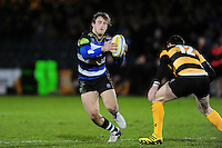 Max Clark of Bath United in possession. Aviva A-League match, between Bath United and Wasps A on December 28, 2016 at the Recreation Ground in Bath, England. Photo by: Patrick Khachfe / Onside Images