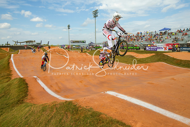 Sports Action Photography  - Photography of the USA BMX Gold Cup East Regional Championships at the Novant Health BMX Supercross Track  Outdoor Center in Rock Hill, South Carolina.<br /> <br /> Charlotte Photographer - PatrickSchneiderPhoto.com