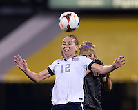 Lauren Holiday, Rosie White. The USWNT tied New Zealand, 1-1, at an international friendly at Crew Stadium in Columbus, OH.