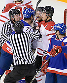 Andrej Stastny (Slovakia - 27), Ryan Ellis (Canada - 6), ?,  - Team Canada defeated Team Slovakia 8-2 on Tuesday, December 29, 2009, at the Credit Union Centre in Saskatoon, Saskatchewan, during the 2010 World Juniors tournament.