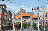 Chinatown, Vancouver, British Columbia , Canada
