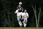 28 October 2014: Georgia Southern's Blake Wilson (22). The University of North Carolina Tar Heels hosted the Georgia Southern University Eagles at Fetzer Field in Chapel Hill, NC in a 2014 NCAA Division I Men's Soccer match. North Carolina won the game 6-2.