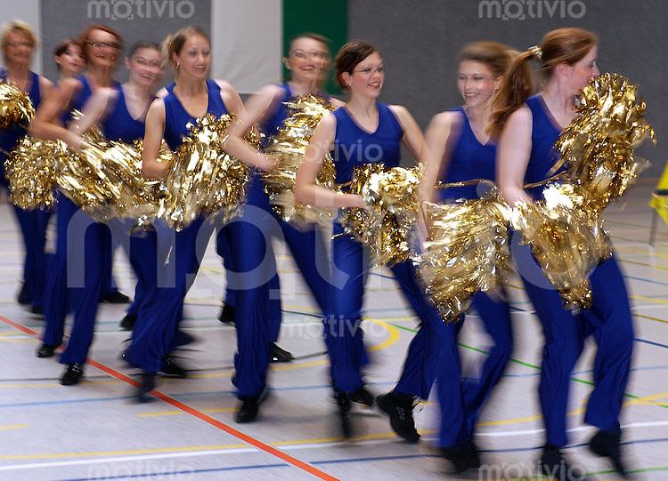 LBS-Aerobic Cup 2002, Niederstotzingen (Germany) Cheerleader Niederstotzingen