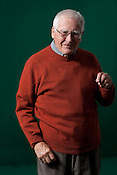 James Lovelock, creator of the Gaia hypothesis, and author, at the Edinburgh International Book Festival, Edinburgh, Scotland on Wednesday 26th August 2009. This year is the 26th Edinburgh Book Festival in the city designated by UNESCO as the first City of Literature.