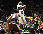 Ole Miss' Murphy Holloway (31) vs. Mississippi State's Jalen Steele (0) at the C.M. &quot;Tad&quot; Smith Coliseum in Oxford, Miss. on Wednesday, January 18, 2012. (AP Photo/Oxford Eagle, Bruce Newman).