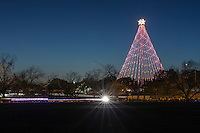 Zilker Park is home each December to the majestic Zilker Holiday Tree.