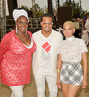 LOS ANGELES, CA -JULY 23: Singers Jane Eugene and Goapele perform at the 1st Annual Los Angeles Soul Music Festival at the Autry in Griffith Park on July 23, 2016 in Los  Angeles, California. Credit: Koi Sojer/Snap'N U Photos/MediaPunch