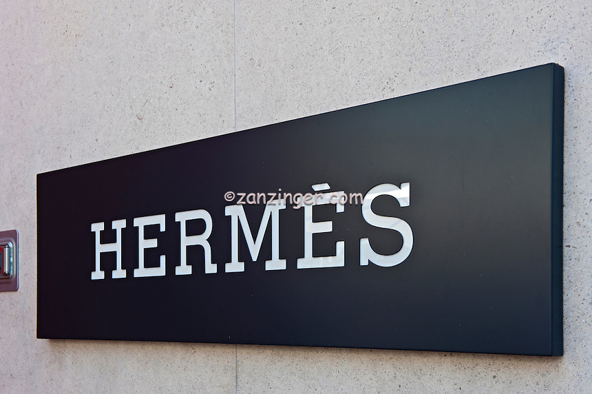 Hermes, Rodeo Drive, Sign, Beverly Hills, CA,