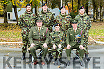 Service Medal Presntation to Members of the Reserve Defence Force at the Open Day on Monday 31st October in Ballymullen Barracks Tralee. Pictured front L-r Comdt Brian Rusk OC E Coy Reserve, Pte Helenna Cullinane, Sgt David Locke, Back Row l-r Pte Steven Healy, Cpl James Gurrie, Pte David Swan, Pte Sean Sean Healy