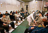 China is succeeding in using herbal medicines in drips...Photo taken March 2000