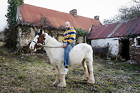 Horse Breeder Michael Long is pictured in Cratloe, County Clare, Ireland..Picture James Horan.
