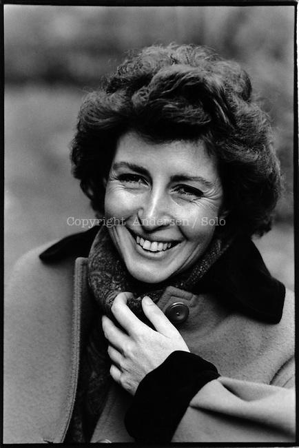 Benedetta Craveri in 1987.