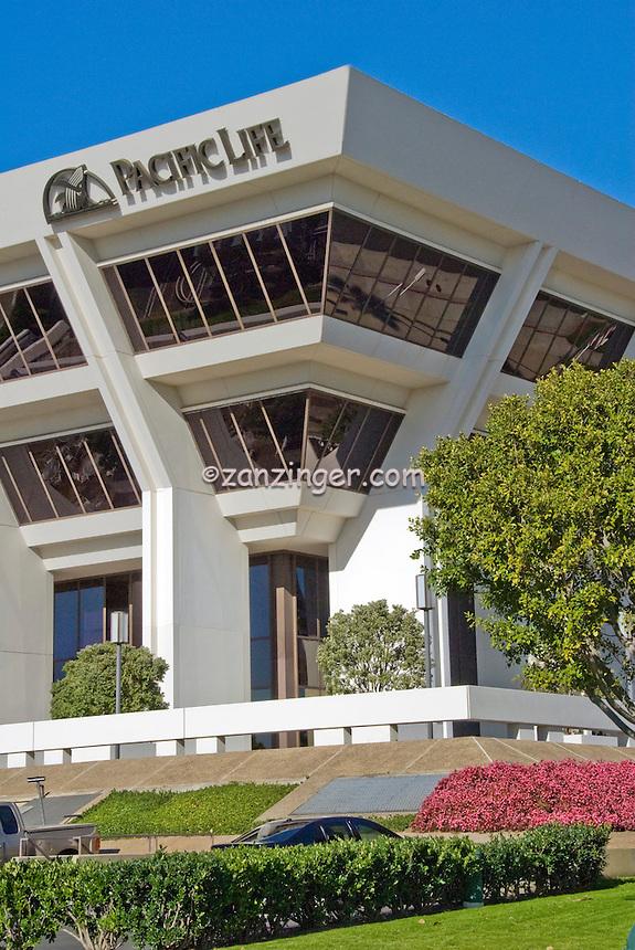 Newport Beach, CA, Pacific Life, Building, Vertical, Orange County, California,