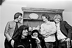 Rolling Stones 1968 Charlie Watts, Bill Wyman, Keith Richards, Mick Jagger and Brian Jones