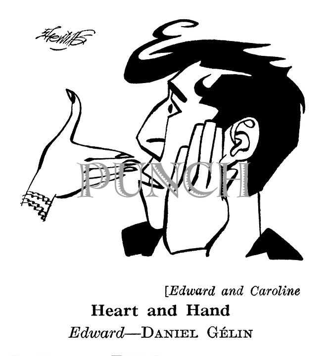 Edward and Caroline : Daniel Gelin