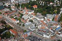 Sachsentor: EUROPA, DEUTSCHLAND, HAMBURG, (EUROPE, GERMANY), 02.09.2016: Bergedorfs Sachsentor vom  Mohnhof bis zum Bahnhof,