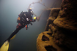 Diving in the Outer Hebrides.                                                                                                                         <br /> <br /> To purchase a print or personal use download add your image to the cart.<br /> <br /> *Please note - you can use your credit card for payment via paypal. There is no need to register with paypal.