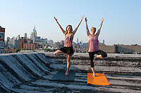 Outdoor Yoga in New York