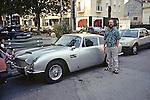 Ben With Aston Martin DB5 (James Bond Car)