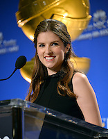 Actress Anna Kendrick at the nominations announcement for the 74th Golden Globe Awards at the Beverly Hilton Hotel, Beverly Hills, CA.<br /> December 12, 2016<br /> Picture: Paul Smith/Featureflash/SilverHub 0208 004 5359/ 07711 972644 Editors@silverhubmedia.com