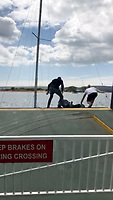 James Beattie rescues mother and children from trapped yacht.(With Vid)