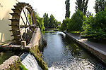 Mill wheel at Tapolca - Balaton, Hungary