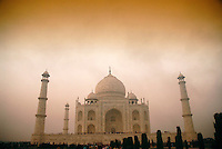 Considered the finest example of Mughal architecture, the Taj Mahal was completed in under 20 years by an estimated 20,000 workers. In 1983, it became a UNESCO World Heritage Site.