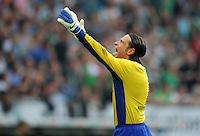 FUSSBALL   1. BUNDESLIGA   SAISON 2011/2012    5. SPIELTAG SV Werder Bremen - Hamburger SV                         10.09.2011 Tim WIESE (Bremen) emotional