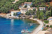 Kalami village at Corfu, Greece