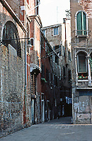 Venice:   a three minute walk--2.  Photo '83.