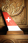 Swiss Air: Plane Antenna, DMC 50 type - Dorne & Margolin Inc. Swiss design furniture's sale at the Artcurial Gallery. Paris, France. 4/24/2009. Photo: Antoine Doyen