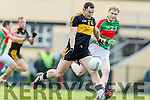 Daithí Casey Dr Crokes in Action against Lorcan Egan Loughmore-Castleiney in the Munster Senior Club Semi-Final at Crokes Ground, Lewis Road on Sunday