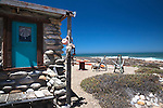 Noup Divers' hut self-catering accommodation, Koingnaas, Namaqualand diamond coast, Northern Cape, South Africa