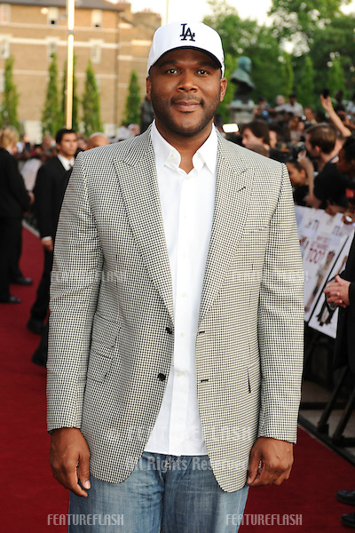 """Director, Tyler Perry.arrives for the """"Why Did I Get Married Too"""" premiere at the Ritzy cinema, Brixton, London. 17/05/2010  Picture by Steve Vas/Featureflash"""