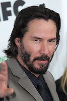 SANTA MONICA, CA, USA - MARCH 01: Keanu Reeves at the 2014 Film Independent Spirit Awards held at Santa Monica Beach on March 1, 2014 in Santa Monica, California, United States. (Photo by Xavier Collin/Celebrity Monitor)