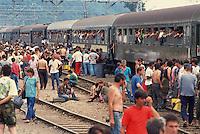 Treno profughi bosniaci